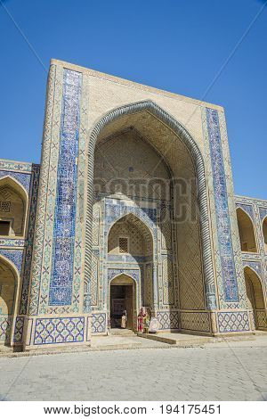Entrance To Madrassa, Bukhara