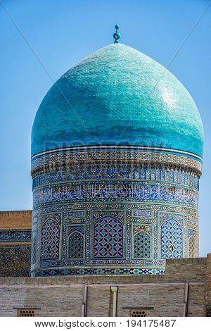 Mir I Arab Madrassa Dome, Bukhara
