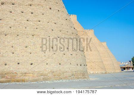 Walls Of Ark Of Bukhara