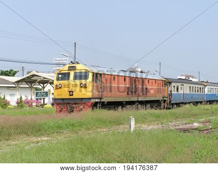 Ge Diesel Locomotive No4547