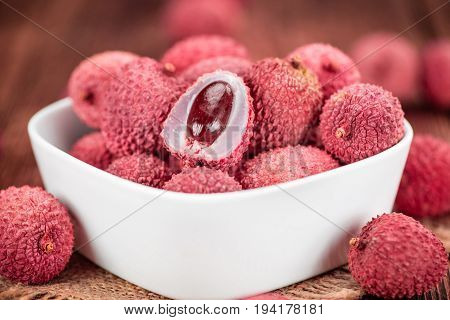Portion Of Lychees