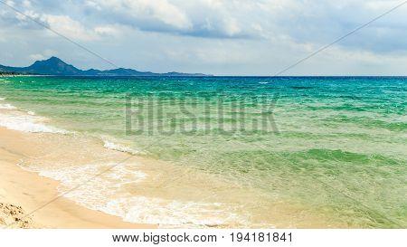 The Beach Of Costa Rei, Sardinia