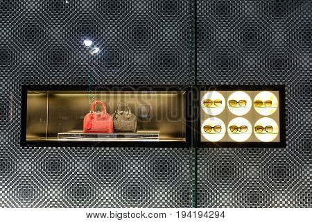 Fashion Boutique Display Window