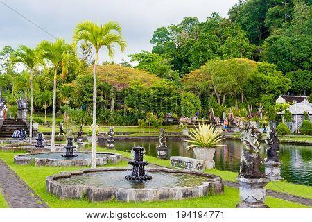 Tirta Gangga Water Palace In East Bali, Indonesia