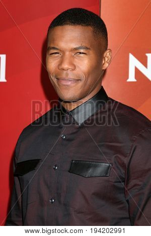 LOS ANGELES - MAR 20:  Gaius Charles at the NBCUniversal Summer Press Day at Beverly Hilton Hotel on March 20, 2017 in Beverly Hills, CA