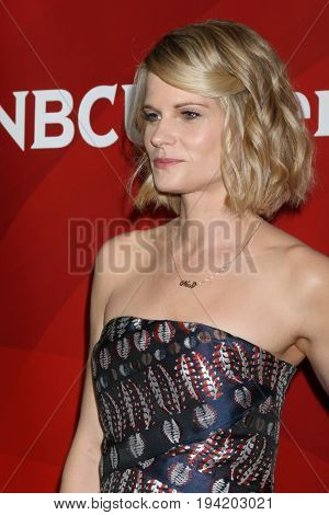 LOS ANGELES - MAR 20:  Joelle Carter at the NBCUniversal Summer Press Day at Beverly Hilton Hotel on March 20, 2017 in Beverly Hills, CA