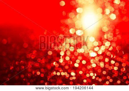 glitter gold blur bokeh de focused filter abstract background