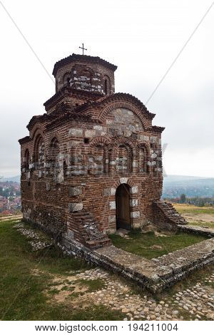 Church of Holy Trinity from XI century build by byzantine emperor Manuel Comnenus, Nis, Serbia