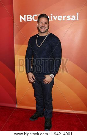 LOS ANGELES - MAR 20:  Ronnie Magro-Ortiz at the NBCUniversal Summer Press Day at Beverly Hilton Hotel on March 20, 2017 in Beverly Hills, CA