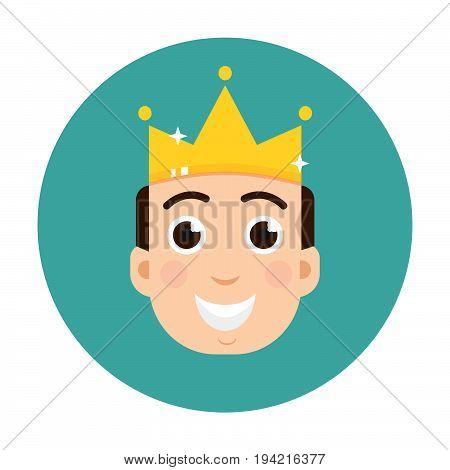 VIP club logo. VIP Club members only logo. Diadem vector logo. King logo vector.