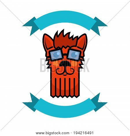 dog grooming logo, grooming pet. Vector illustration