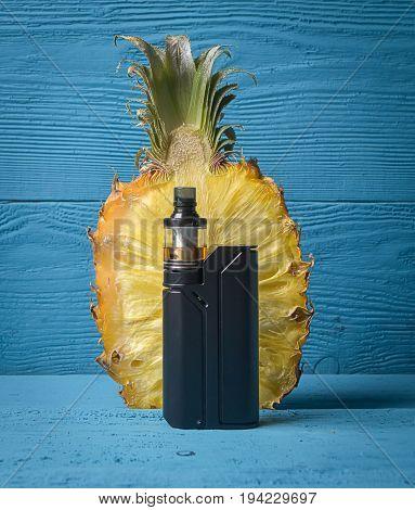 Black Vaporizer And Pineapple