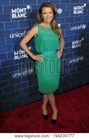 LOS ANGELES - FEB 23:  Jane Seymour at the Pre-Oscar charity brunch by Montblanc & UNICEF at Hotel Bel-Air on February 23, 2013 in Los Angeles, CA