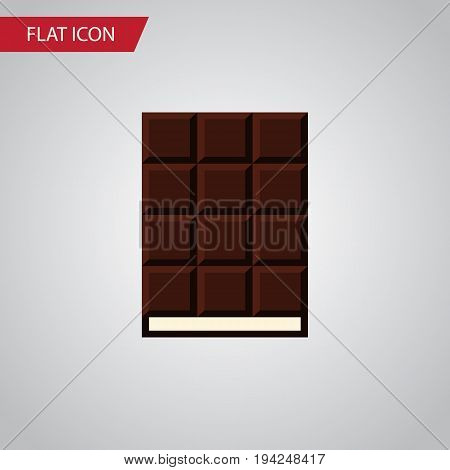 Isolated Wrapper Flat Icon. Dessert Vector Element Can Be Used For Wrapper, Dessert, Chocolate Design Concept.