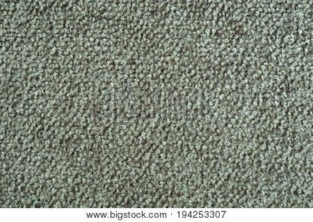 Green velour grain fabric texture as background