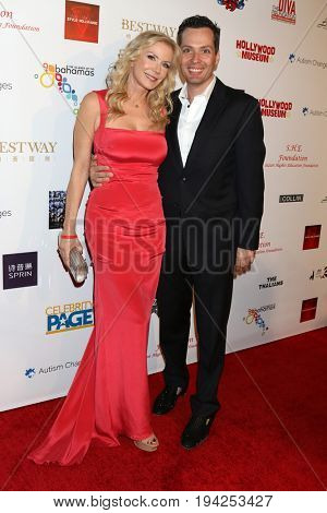 LOS ANGELES - FEB 26:  Katherine Kelly Lang, Dominique Zoida at the Style Hollywood Oscar Viewing Dinner at Hollywood Museum on February 26, 2017 in Los Angeles, CA