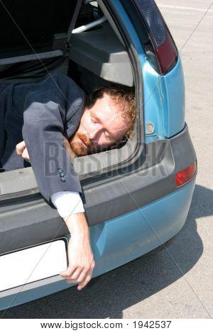 Dead Man In Car Boot