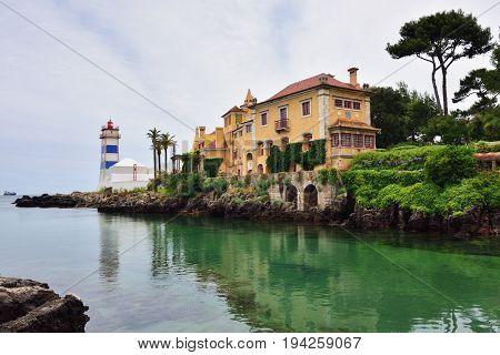 Santa Marta Lighthouse Cascais Portugal