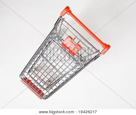 shopping cart top view