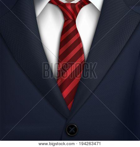 background with  necktie costume Classic tuxedo jacket
