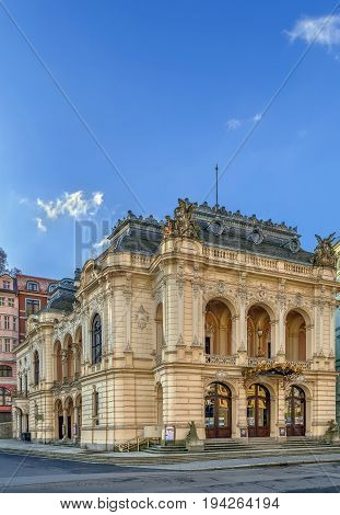 The Karlovy Vary theatre was built in the years 1884-1886 in Neo-Baroque style. Czech republic