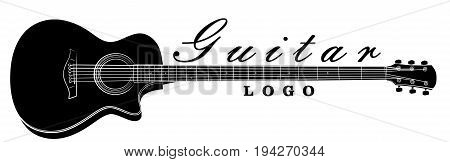 The Logo of a classical variety guitar.