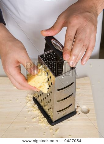 grating cheese