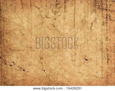 Hermosa antigua muralla con grietas y textura