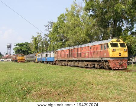 Ge Diesel Locomotive No 4551.