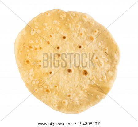 Flat Bread Isolated