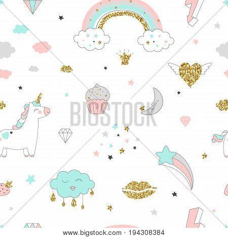 Unicorn Seamless Pattern-01.eps