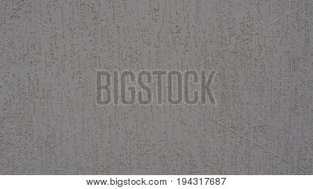 Gray Putty On The Wall Is Depicted
