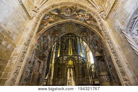 Convent Of Christ, Tomar, Portugal