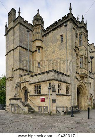 Abbey Gateway Or Abbots Gatehouse