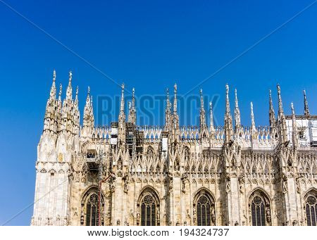 Milan Cathedra, Domm de Milan is the cathedral church