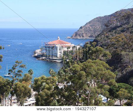 LOS ANGELES - APR 26:  Catalina Island Scenics at Catalina Film Festival on August 26, 2014 in Avalon, Catalina Island, CA