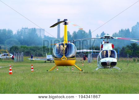 Ultra Light Helicopters