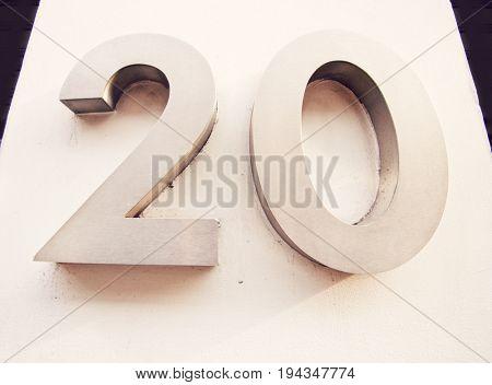 Door Number of 20