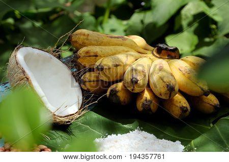 Vietnam Sweet Food, Banana Cream