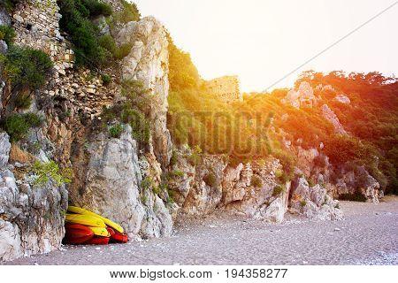 Olympos Beach Cirali In Turkey, Eco Travel