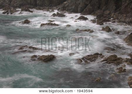 Living Ocean, Water Motion Blur