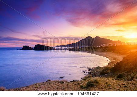 La Isleta Del Moro Coast Of The Natural Park Of Cabo De Gata