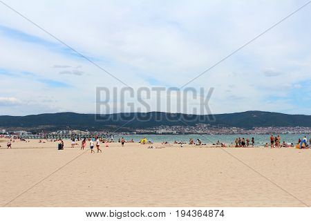 View Of Sunny Beach, Nessebar, Bulgaria