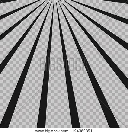 Abstract Comic Book Flash Explosion Radial Lines Background. Illusion Rays. Retro Sunburst.grunge De