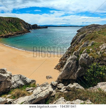Atlantic Ocean Coast Landscape.