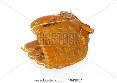 Baseball Catcher Mitt Isolated On White Background