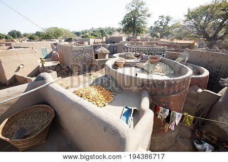 Lifestyle in rural village in Burkina Faso
