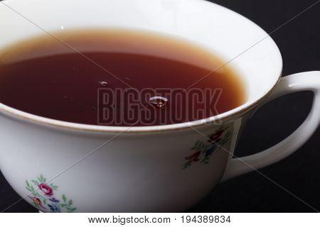 Close Up Of Tea Cup
