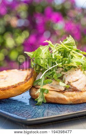 Grilled Ahi Sandwich