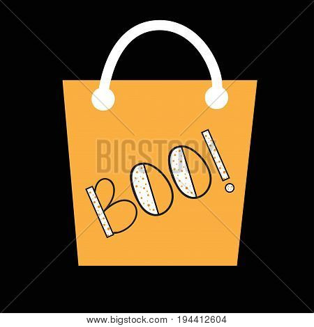 Happy Halloween Boo Candy Goodie Treat Bag